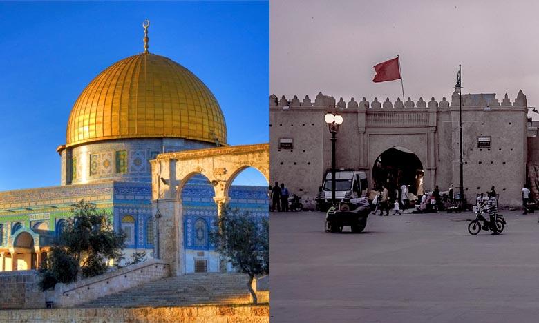 La convention de jumelage entre Al-Qods et Oujda illustre la profondeur et l'originalité des relations unissant le Maroc et la Palestine. Ph : DR