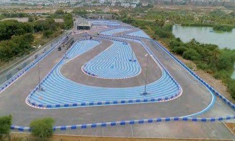Le parc Sindibad lance son circuit de karting