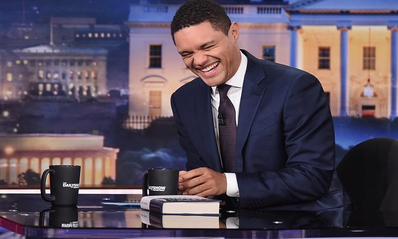 """Avec une ironie mordante, la Star du Daily Show Trevor Noah a lancé : """"L'Afrique a remporté la Coupe du monde!"""". Ph. AFP"""