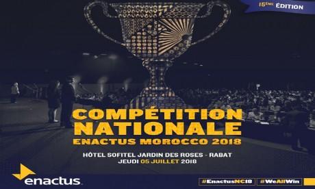Rabat accueille la 15ème édition de la compétition nationale d'Enactus Morocco