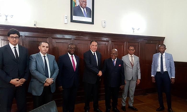 Coopération maroco-guinéenne: vers une Concrétisation des objectifs  déjà tracés