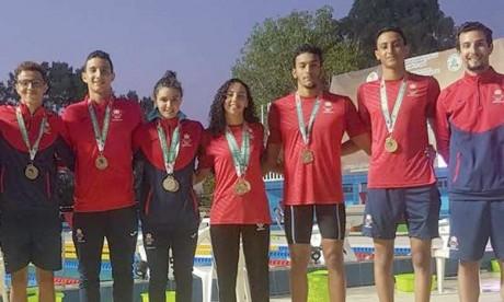 Cinq nouvelles médailles d'or  décrochées au terme de la 7e journée