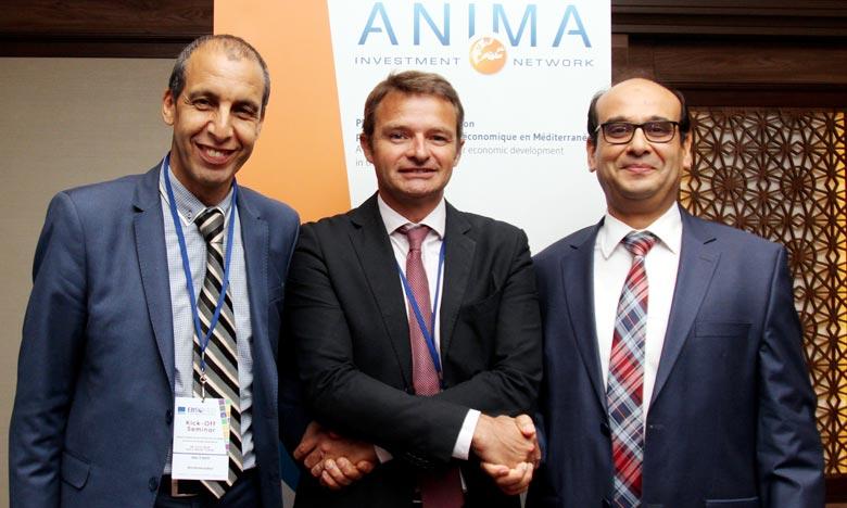 Le Maroc représenté par l'Agence de l'Oriental à travers le Directeur du Pôle Coopération Internationale et Promotion Economique, présidera la plateforme Anima qui a été créée en 2006 à Marseille en France par un consortium d'Agences de pays euro-méditerranéen dont le Maroc. Ph : MAP