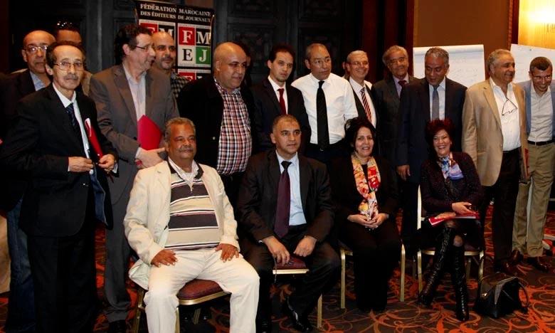 Le bureau exécutif de la FMEJ avait salué dans un communiqué la décision des éditeurs de geler leur contribution à la constitution du Conseil national de la presse. Ph : DR