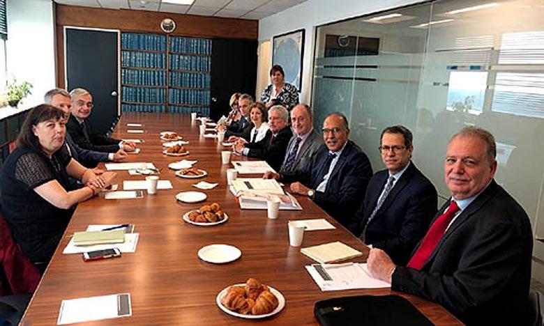La réunion de l'Union mondiale de la mutualité a été  organisée en marge du Forum Politique de Haut-Niveau 2018 de l'Onu. Ph : MAP