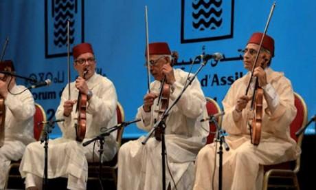 Concert de l'Orchestre Andaloussi de Fès