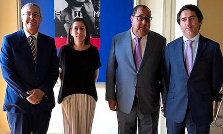 L'USFP renouvèle le contact avec le PS portugais