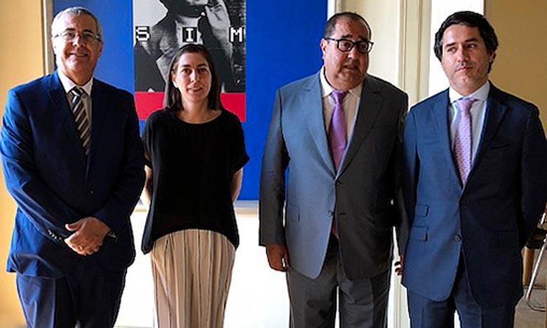 Les membres de la délégation marocaine ont, à cette occasion, fait la lumière sur les derniers développements de la question du Sahara marocain au niveau international.        Ph : DR