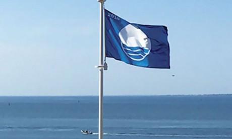 La plage «Ba Kassem» bat Pavillon bleu pour la sixième année consécutive
