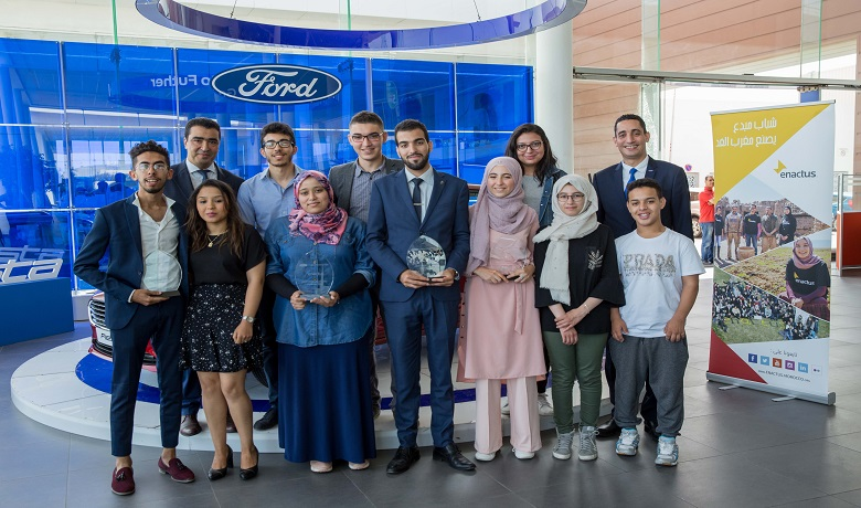 Ford Motor Company Fund et Enactus Morocco renouvellent leur engagement