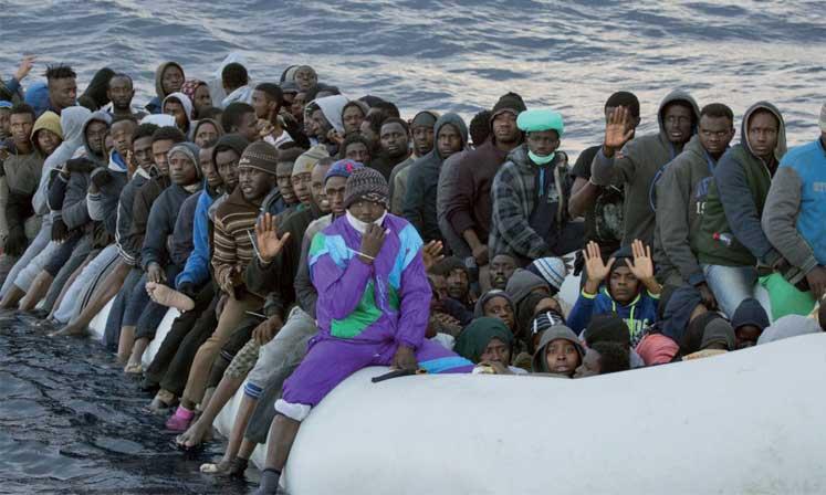 Le gouvernement impose  des conditions pour accepter  les migrants sauvés en mer