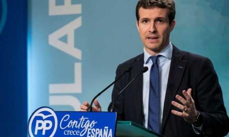 Pablo Casado élu  nouveau président du  Parti populaire espagnol