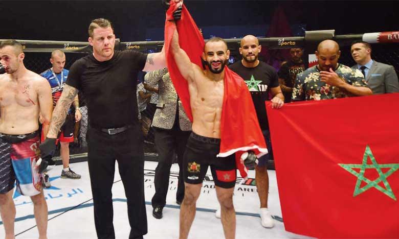 Ottman Azaitar a battu Kokora en 32 secondes, le deuxième KO le plus rapide de l'histoire de Brave