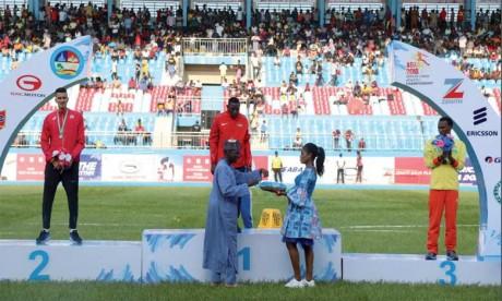 Le Maroc termine avec une moisson de neuf médailles