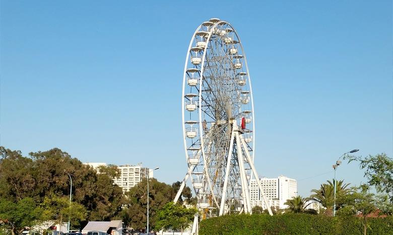 Baptisé «Grande roue de Tanger», ce nouveau projet touristique donnera un nouvel élan à l'offre touristique de la ville du Détroit. Ph : DR
