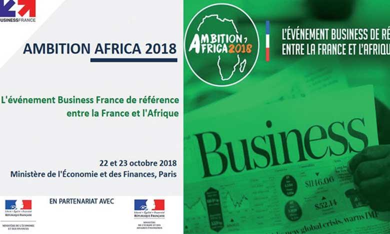 «Ambition Africa 2018», un évènement business de référence en octobre  prochain à Paris