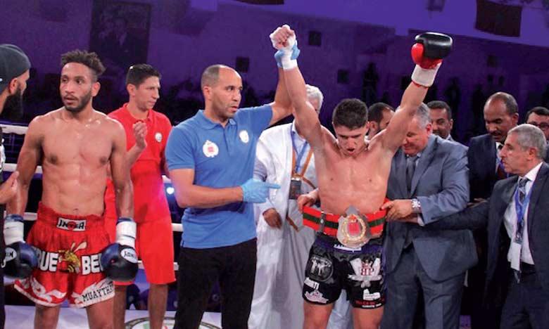 Zakaria Tijarti, a fait étalage de sa technique et sa puissance de frappe face à Enderson Bonat.