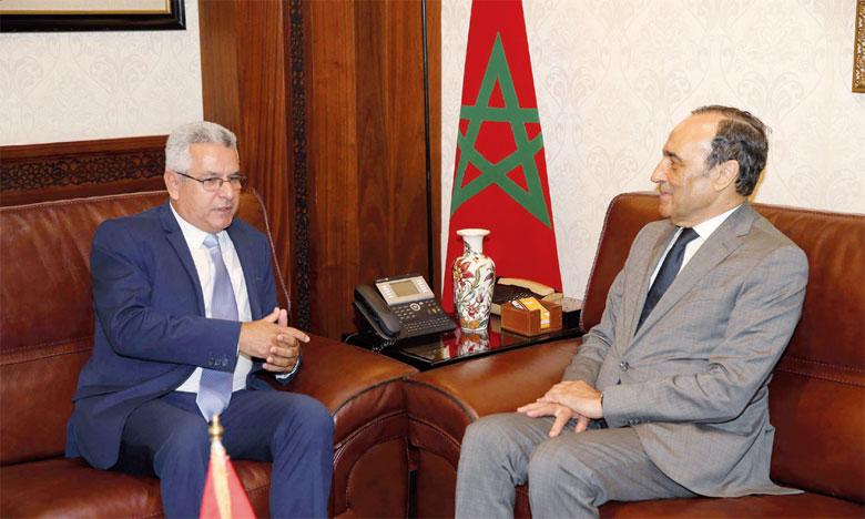 Habib El Malki souligne le rôle  de la diplomatie parlementaire dans  la promotion de  la coopération bilatérale