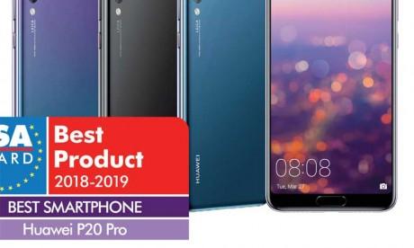 Huawei P20 Pro, meilleur smartphone de l'année
