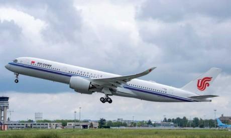 Air China prend livraison de son  premier Airbus A350-900