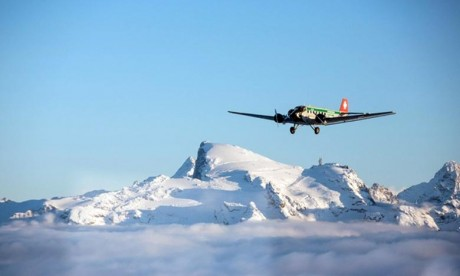 Crash d'un avion de collection en Suisse