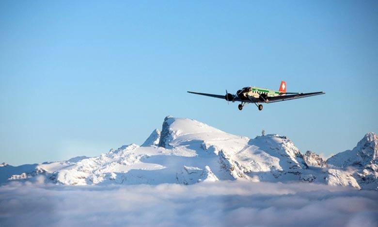 Crash d'un avion de collection en Suisse