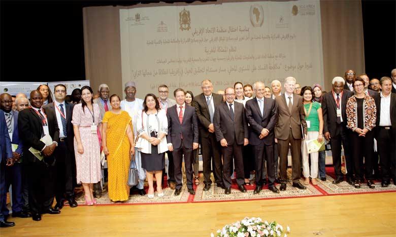 M.Mbassi a souligné que cette rencontre a pour but de promouvoir les valeurs et les principes de la Charte africaine de la décentralisation. Ph. MAP