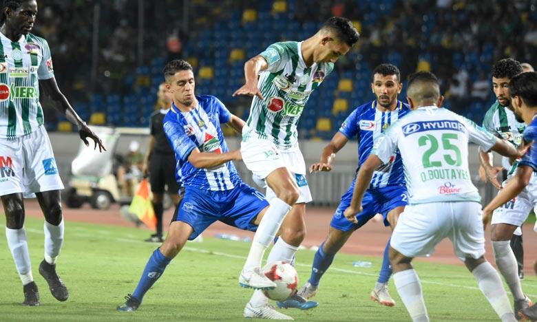 Les buts du RCA ont été marqués par Saif Al-Din Alami (7e min), Soufiane Rahimi (33e min), Mouhcine Yajour (56, 68), Zakaria Hadraf (81e) et Omar Boutayeb (86e). Ph : Seddik