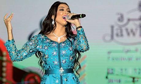 Dounia Batma et Adil Miloudi  ont séduit le public d'El Jadida