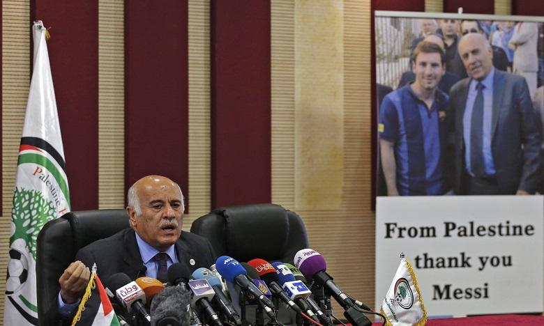 Fifa : carton rouge pour le Palestinien Rajoub