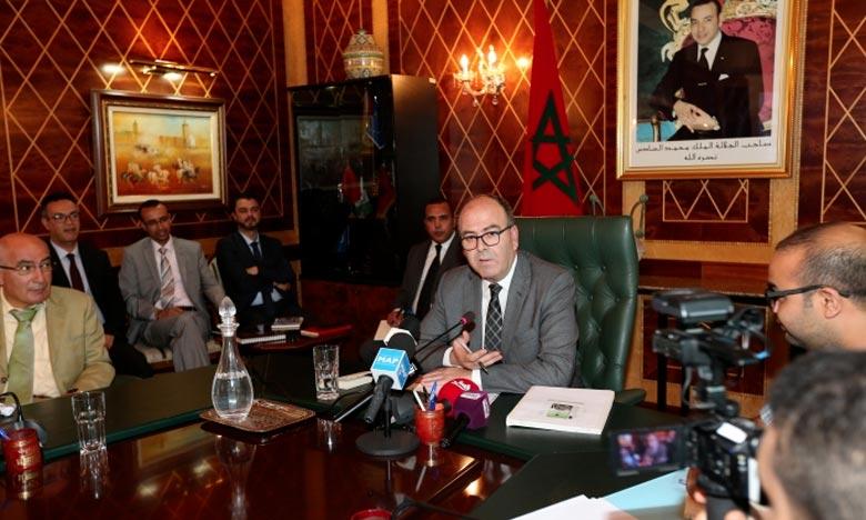 Hakim Benchamach, président de la Chambre des conseillers devra prononcer une allocution au nom de la deuxième Chambre du Parlement. Ph : MAP