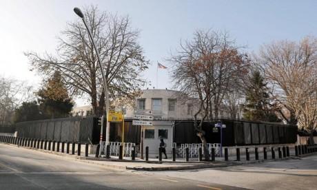 L'ambassade américaine à Ankara cible d'une attaque