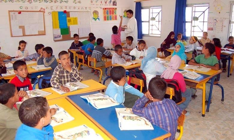 Les employés dans le cadre du statut des AREF jouissent du statut d'enseignant de plein droit et jouent un rôle considérable au niveau du système d'éducation et de formation. Ph : DR