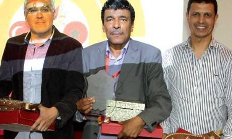 Des dirigeants  et journalistes honorés