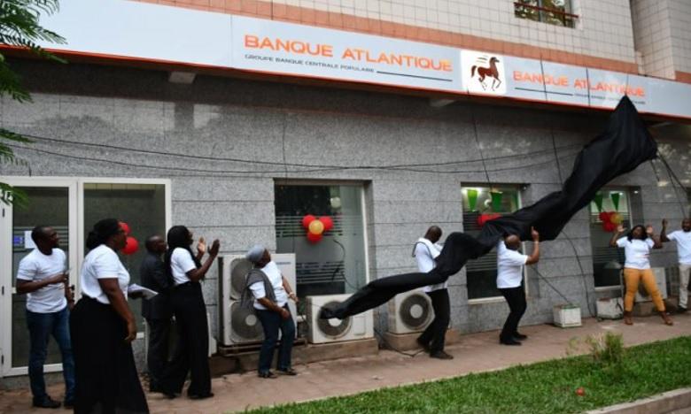 Banque Atlantique, filiale du groupe BCP, dévoile ses nouvelles couleurs
