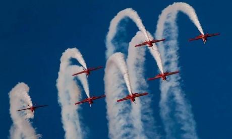 Fête de la Jeunesse :  Shows aériens sur la baie de Bouregreg