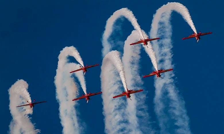 Les Forces Royales Air ont l'honneur de participer aux festivités marquant cet heureux événement, par des shows aériens sur la baie de Bouregreg. Ph : DR