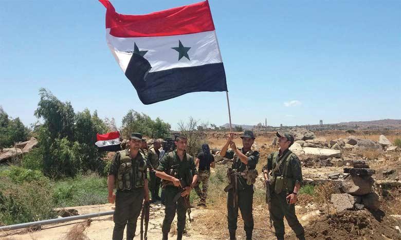 Plus de sept ans après le début du conflit, le régime a repris près de deux tiers du territoire, dont des axes routiers et des points de passage frontaliers.  Ph. DR