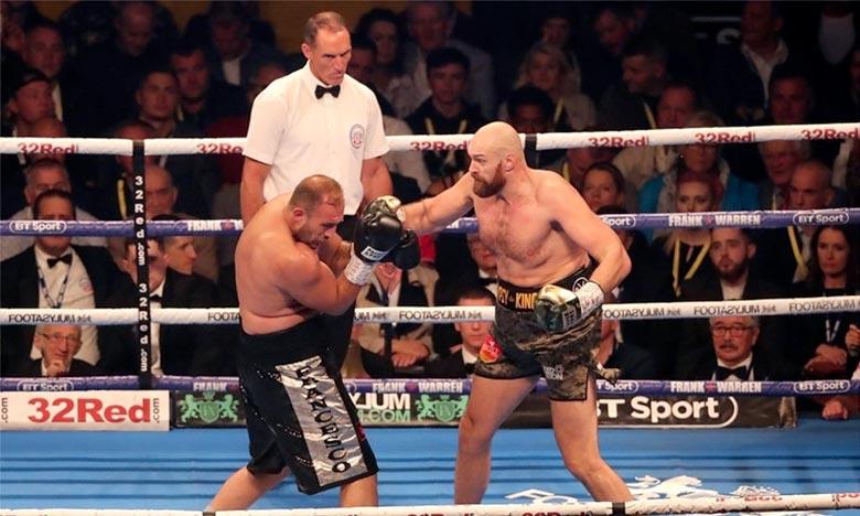 Le Britannique Tyson Fury entend marquer son retour sur les rings en s'imposant face à l'Italien Francesco Pianeta. Ph : DR