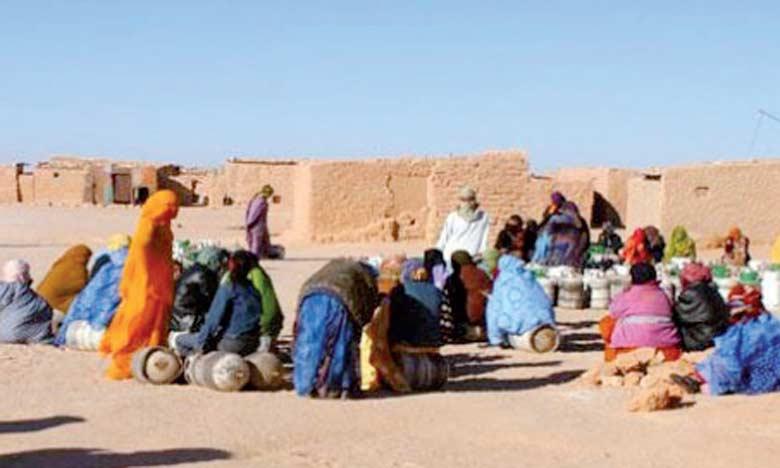 La population saharienne souffre des exactions du polisario à Tindouf.