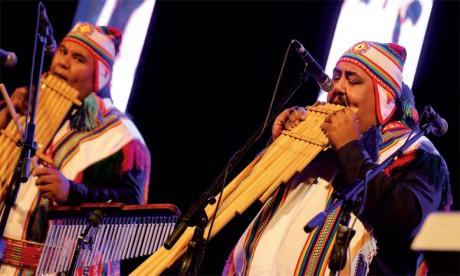 Les musiques traditionnelles  du monde à l'honneur
