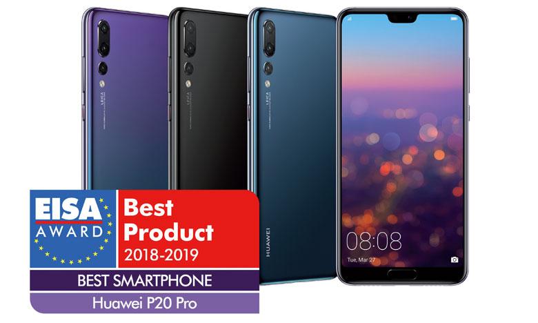 Le nouveau Huawei P20 Pro a décroché l'EISA Best Smartphone 2018-2019.