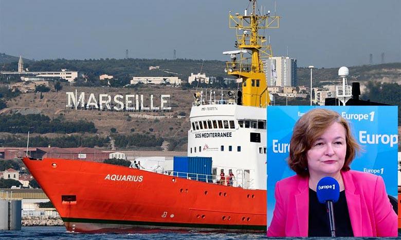 La ministre française chargée des Affaires européennes, Nathalie Loiseau, défend l'action de la France dans la gestion de la crise migratoire. Ph : DR