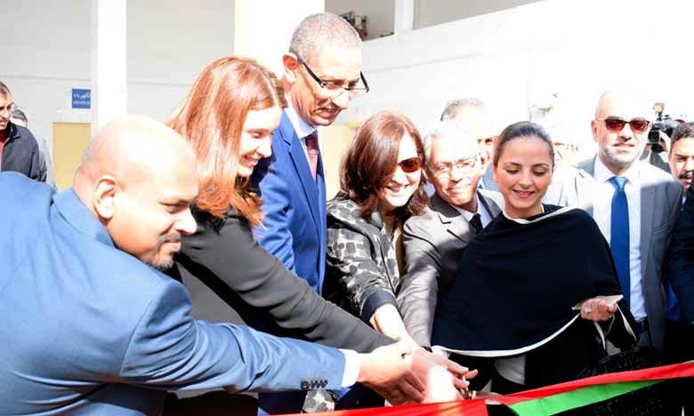 Loubna Tricha, la directrice générale de l'Office de la formation professionnelle et de la promotion du travail (OFPPT), a été installée, dans son nouveau poste, à Casablanca. Ph : DR