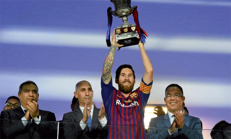 Ousmane Dembélé offre la Supercoupe au Barça