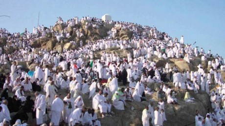 La délégation officielle rend visite aux pèlerins marocains