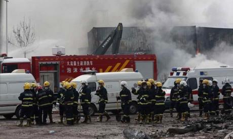 Incendie mortel dans un hôtel à Harbin