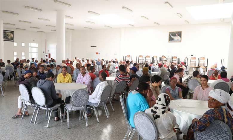Cette célébration a en effet permis de partager la joie de l'Aid avec ces catégories dont la situation sociale ou l'état de santé les empêchent de célébrer cette fête religieuse parmi les membres de leurs familles.  Ph. MAP