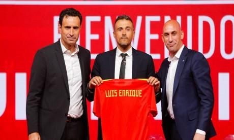 Supercoupe d'Espagne : Luis Enrique en VIP à Tanger