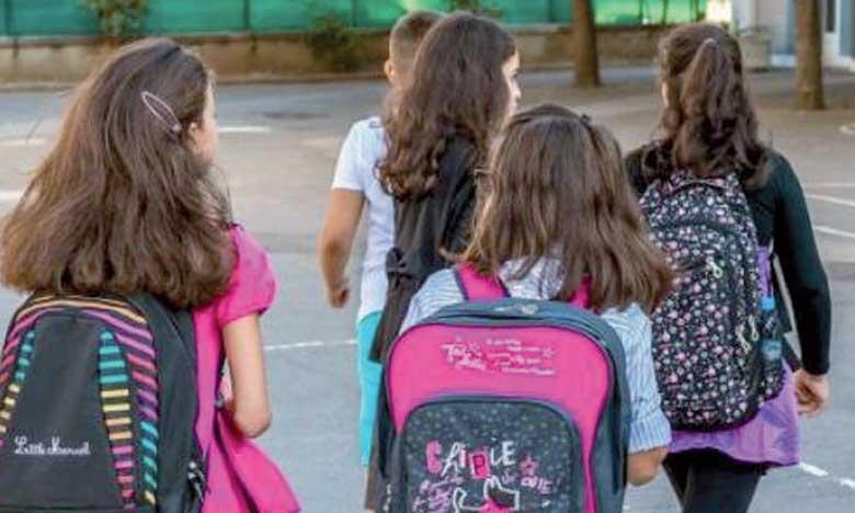 Le taux d'élèves scolarisés a augmenté de 20%